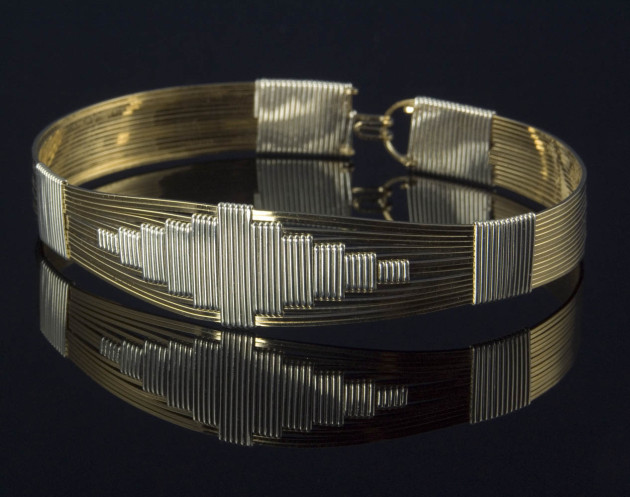 The Four Corners Bracelet - Gold
